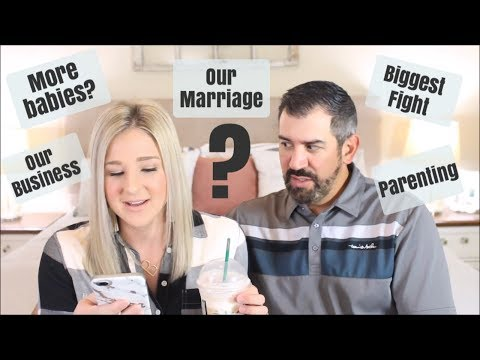 MARRIAGE, BABIES, YOUTUBE   HUSBAND AND WIFE Q&A