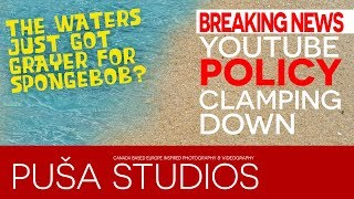 Breaking News! YouTube Community Guidelines Update 2019 | LIVE on Puša Studios Special!!
