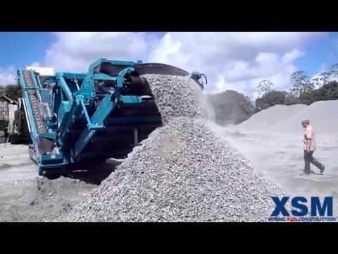 180 ton per hour Coke ore crushing plant