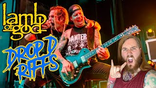 7 Catchiest Drop D Lamb Of God Guitar Riffs Solar Ola Englund