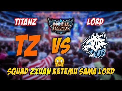 tz·zχuαи 小璐 Titanz SG Squad vs Evos Lord Squad Ini Ranked Rasa MSC