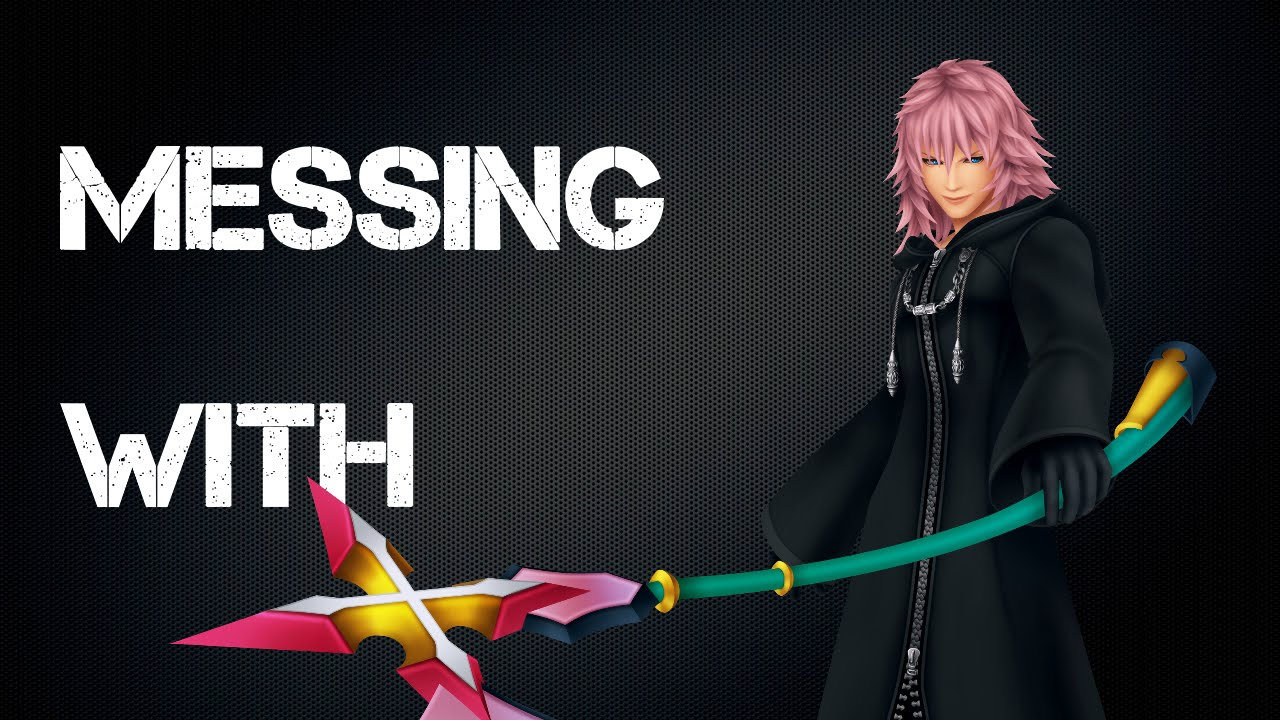 Kingdom Hearts Ii Ps3 Messing With Marluxia Critical