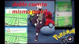 Cómo usar dos cuentas en un mismo móvil Pokémon GO