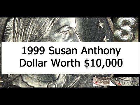 Susan Anthony Dollar Value - Do You Have A SBA Worth $10,637 Or Wide Rim - Clear S?