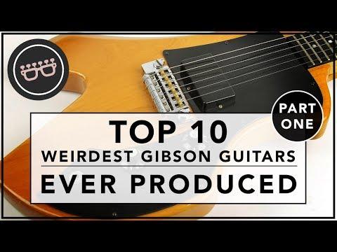 Top 10 Weirdest Gibson Guitars Ever - Part One