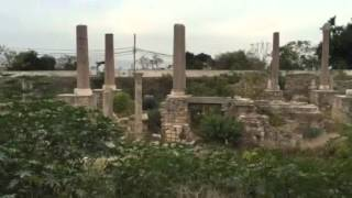 Return to the Byzantine Cathedral ruins, Tyre, Lebanon