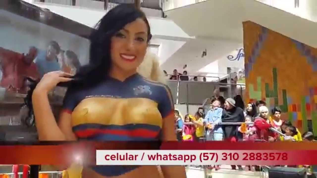 colombia women nude body