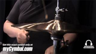 "Paiste 15"" 2002 Sound Edge Hi Hat Cymbals - Played by Abe Laboriel Jr. (1063115-1052413A)"