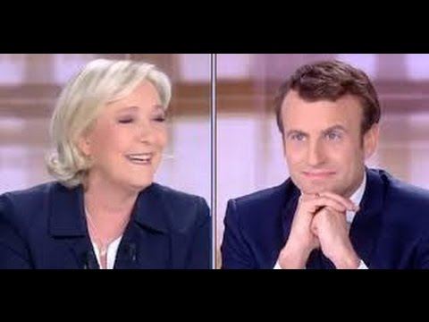 Wow! Le Pen destroys Macron And Bitcoin/Litecoin Rising Stars!!!!!