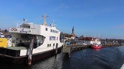 """HIDDENSEE - Ostsee """"Impressionen im Winter Überfahrt von Schaprode zur Insel Hiddensee"""""""