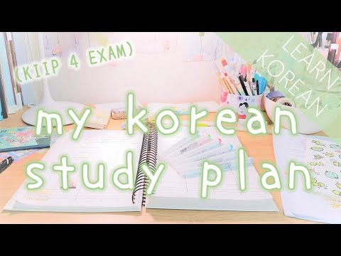 How To Learn Korean | My Korean Study Plan (3 Week Exam Prep)