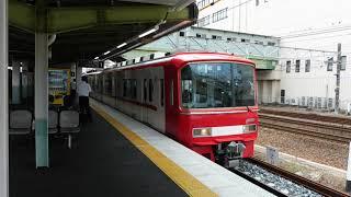 名鉄3107F+3522F 急行岐阜行き 神宮前駅発車