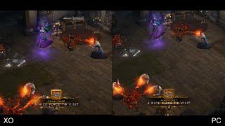 Diablo 3: Xbox One vs PC Comparison