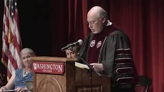 Washington College Fall Convocation 2017