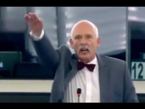 """Hitlergruß im Europaparlament: """"Ein Volk, ein Reich, ein Ticket"""""""