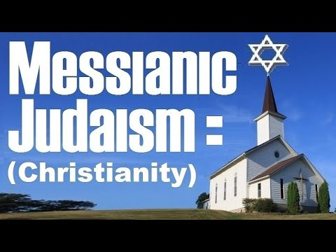 MESSIANIC JUDAISM (or one for israel messianic jewish voice jews for jesus chosen people ministries