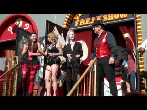 Sword Swallowers Day 2013 At The Venice Beach Freakshow !