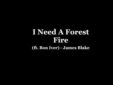 James Blake I Need A Forest Fire ft. Bon Iver (Official audio and lyrics)