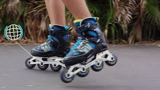 FIT5 junior - Rollers | OXELO PRODUCTS