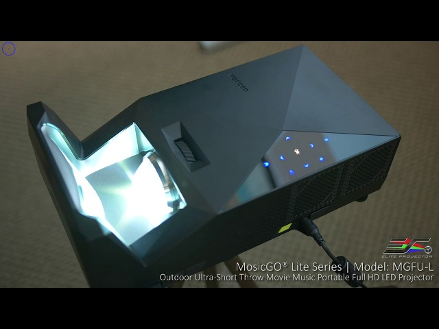Elite Projector MosicGO® Lite Outdoor Portable Bundle Product Video