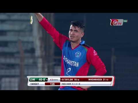 All Wickets | Afghanistan vs Zimbabwe | 5th T20 | Bangladesh Tri-Series 2019