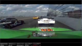 Danica Patrick onboard Daytona duel #1 2012