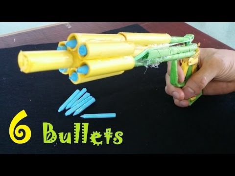 How to make a Paper Gun that Shoots 6 Bullets with Trigger