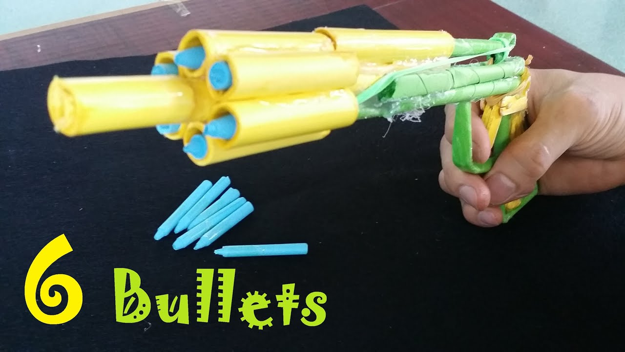 how to make a paper machine gun that shoots
