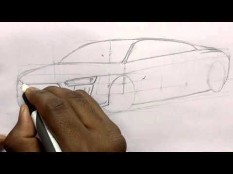 How to Draw Audi R8