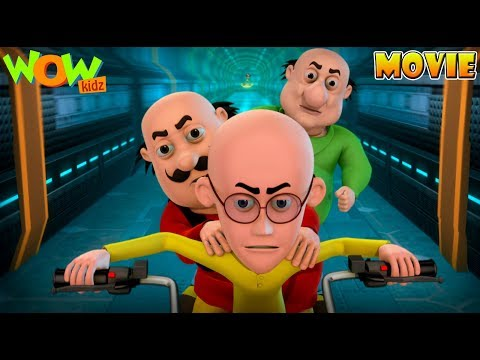 Motu Patlu Mission Moon - Movie - Part 3 | Movie Mania - 1 Movie Everyday | Wowkidz