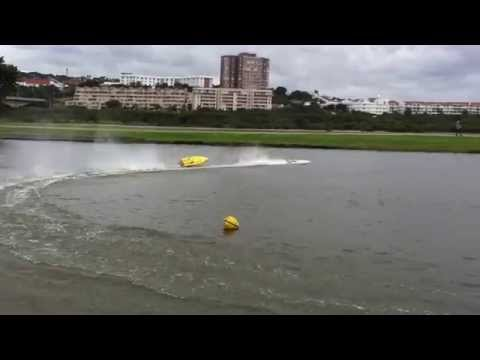 Power Boat Racing at the Durban Radio Boat Club