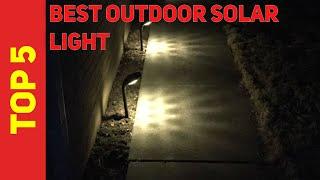 ✅ Best Outdoor Solar Light 2021 - Top 5 Outdoor Solar Light