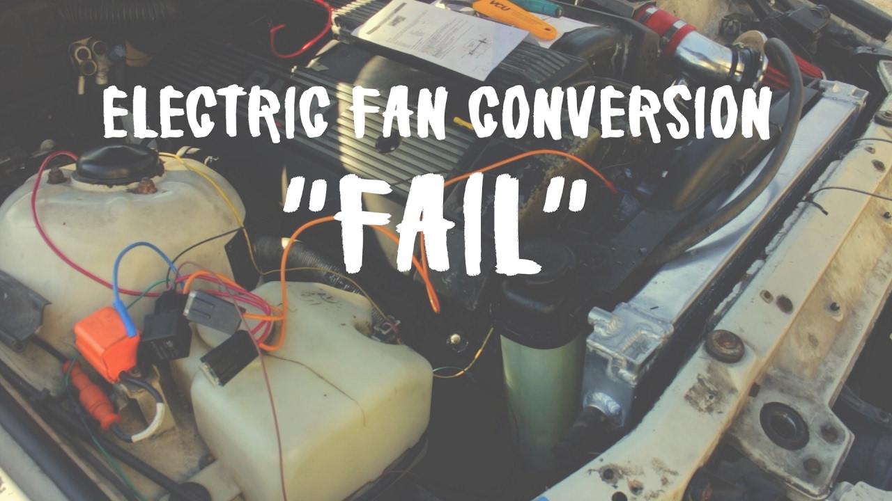 E36 Drift Build - Episode 11 Wiring Electric Fan Kit (GONE WRONG ...
