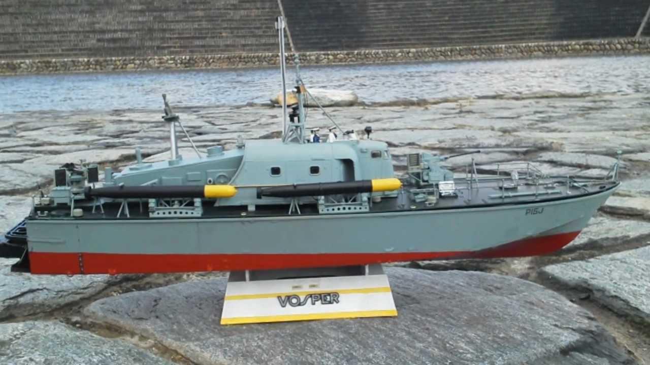 魚雷艇ボスパー - YouTube