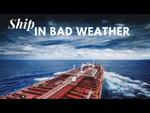 Tanker in Bad weather | Life at Sea | HD