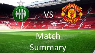 Saint-Etienne 0 - 1 Manchester United Match Summary | The One United