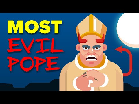 Most Evil Pope in History - Alexander VI The Devil Pope