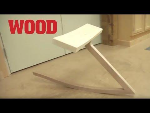 Joint Test: Zig-Zag Rocking Chair - WOOD magazine