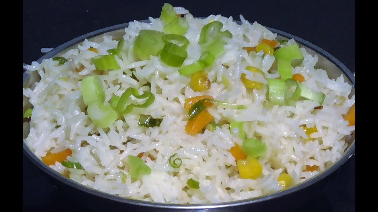 Vegetable fried rice indian style youtube vegetable fried rice indian style ccuart Images