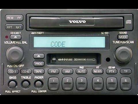Volvo Sc 901 C70 Stereo With 13 Speaker Dynamic Package