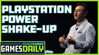 PlayStation Power Shake-Up - Kinda Funny Games Daily 11.07.19