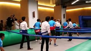 HUMAN Foosball SEMI-Final (FNA VS MOONTREKKERS)