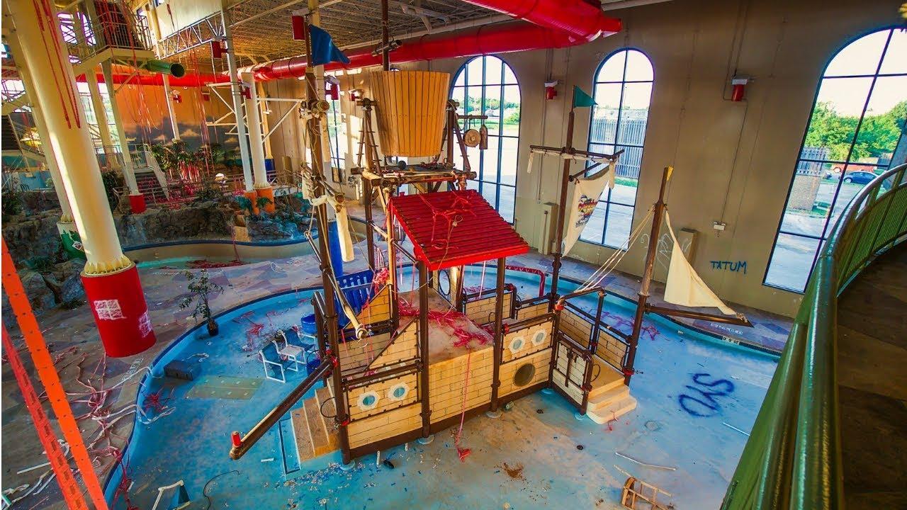 Abandoned Indoor Water Park Resort & Hotel *Now Demolished*