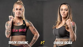 Best Female Fight of 2021?! Knucklemania: Taylor Starling vs. Charisa Sigala