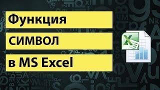 Функция СИМВОЛ в Excel или как верстать HTML в Excel