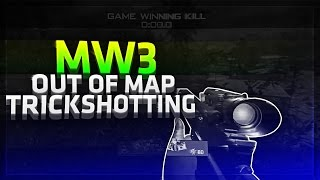 Obey Shaawn: MW3 Out of Map Trickshotting! (5 SHOTS)