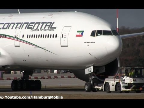 ✈[HD] RARE! B777-2FB - Ceiba Intercontinental - CLOSE TAKEOFF @ Hamburg