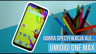 UmiDigi One Max - Recenzja smartfona z ŁADOWANIEM BEZPRZEWODOWYM za 700 zł/ Mobileo [PL]