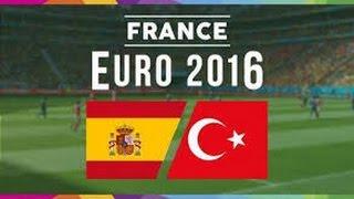 Espanha x Turquia Gols Melhores Momentos Eurocopa 2016