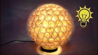 Como hacer una lámpara de diseño. Design lamp. thumbnail